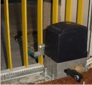 ประตูรั้วไฟฟ้า รุ่น NUVO 20 F