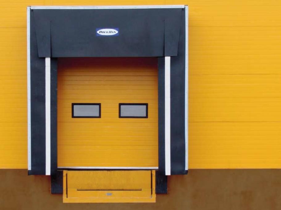 ซุ้มประตูขนถ่ายสินค้าเข้าออกตู้container